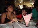 Amanda Cecilia Mazzeto, Claudinho (incomp), Max Fuhlendorf (pai), - 0 - Restaurante Sao Francisco, Sao Bernardo do Campo