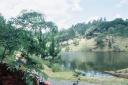 0 - lago, plataforma de tirolesa - Camping Cabreúva, Cabreúva