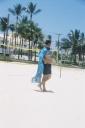 Sidney de Castro, - capa, rede vôlei - Praia Enseada, Guarujá