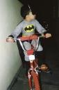 Kaique Souza Abreu, - bicicleta, Batman - Casa Junior, Sao Paulo