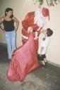 Kaique Souza Abreu, Sidney de Castro, Nete (mãe K.aique), - Papai Noel - Casa Junior, Sao Paulo