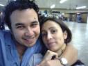 Kenji Baba, Lúcia Martins, - 0 - Aeroporto de Cumbica, Guarulhos