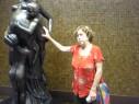 Josepha Garcia Hernandez, - estátua - Aeroporto de Cumbica, Guarulhos