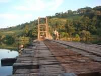 0 - 0 - Ponte sobre Rio Paranapanema, divisa SP/PR, Ribeirão Claro