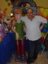 Cláudio Silvestre, - boneco Scooby Doo - Buffet rua São Paulo, São Caetano do Sul