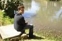 Mauro Felão Junior, - pescando - Capivari, Campos do Jordão