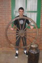 Anderson Leandro Pacheco, - roda de carroça - Hopi Hari, Vinhedo
